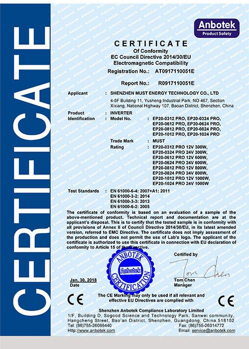 EP2000 PRO CE