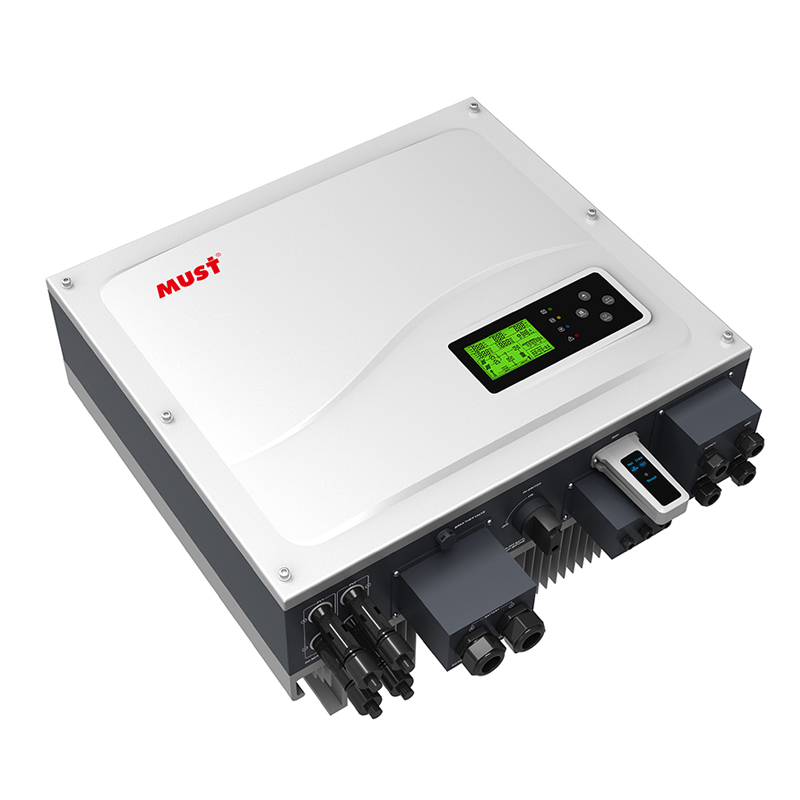 PH1000 Series High Frequency ON/OFF Grid Hybrid Solar Inverter (3.6-5KW)