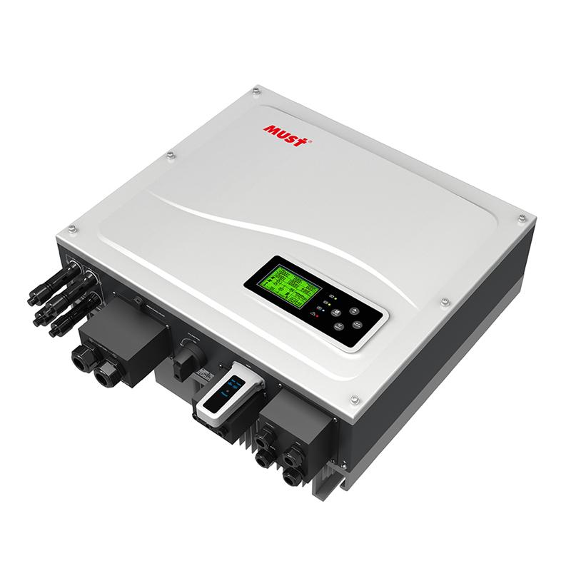 PH1000 Series High Frequency ON/OFF Grid Hybrid Solar Inverter (3.6-5KW)
